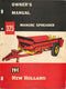 New Holland 325 Manure Spreader Manual