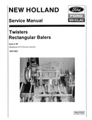 New Holland - Baler Knotters - Service Manual