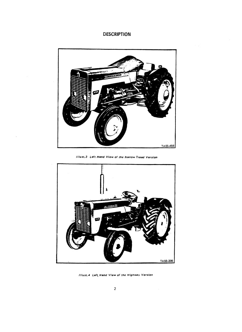 International 434 Tractor Manual