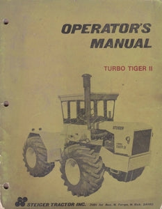 Steiger Turbo Tiger II Manual