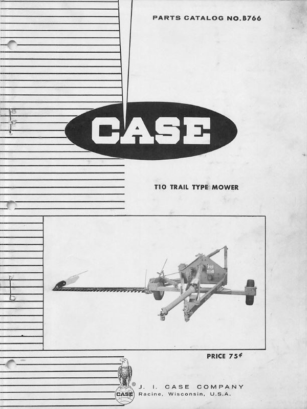 Case T10 Mower - Parts Catalog