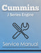 Cummins J Series Engine - Service Manual Cover