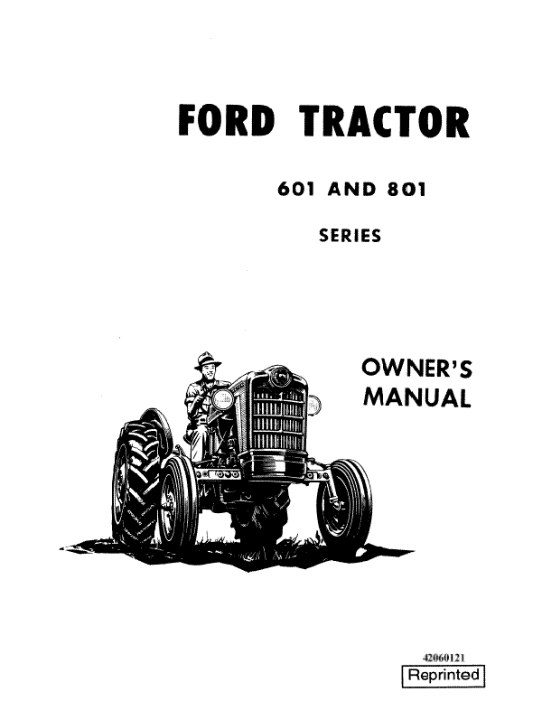 Ford 601, 611, 621, 631, 641, 651, 801, 811, 821, 841, 851