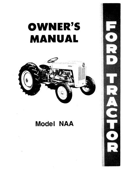 Ford NAA Tractor Manual