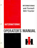 International and Farmall 504 Tractor Manual