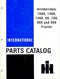 International 1066, 1466, 1468, 66, 766, 966 and 986 Tractor - Parts Catalog
