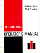 International 384 Tractor Manual