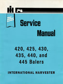 International 420, 425, 430, 435, 440, and 445 Balers - COMPLETE Service Manual