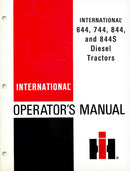 International 644, 744, 844, and 844S Diesel Tractors Manual