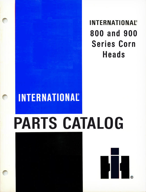 CH-1 International 800 and 900 Parts Catalog