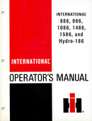 International 886, 986, 1086, 1486, 1586, and Hydro-186 Manual