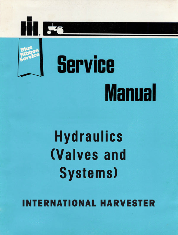 International Hydraulics (Valves and Systems) - Service Manual