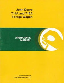 John Deere 714A and 716A Forage Wagon Manual