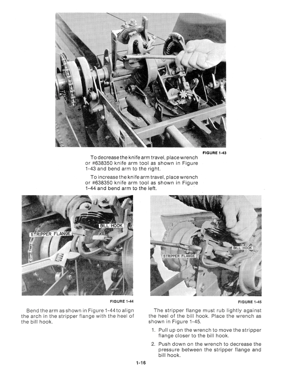 Additional pictures of the New Holland Baler Knotters - Service Manual.