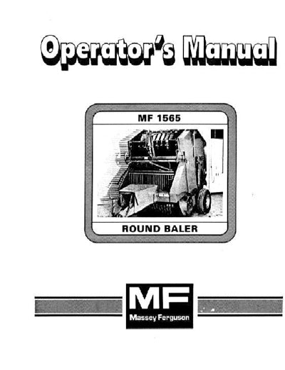 Massey Ferguson 1565 Round Baler Manual