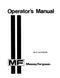 Massey Ferguson 81 Haytender Manual