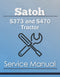 Satoh S373 and S470 Tractor - Service Manual