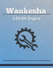 Waukesha 140-GK Engine - Service Manual Cover