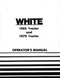 White 1465 and 1470 Tractor Manual