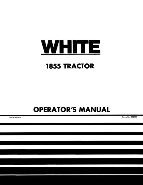 White 1855 Tractor Manual
