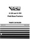 White 2-135 and 2-155 Tractor - Parts Catalog