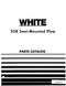 White 508 Plow - Parts Catalog