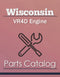 Wisconsin VR4D Engine - Parts Catalog Cover