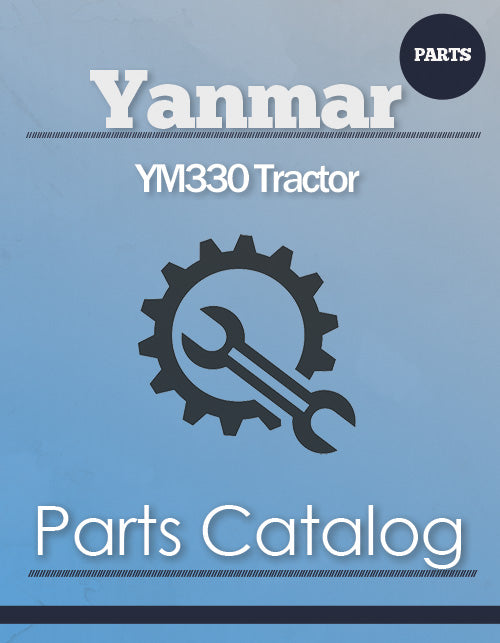 Yanmar YM330 Tractor - Parts Catalog Cover