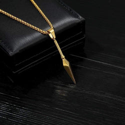 Spear Necklace - Gold