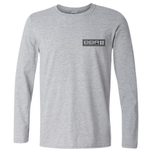 Load image into Gallery viewer, BBR Grey Team Long Sleeve Tee