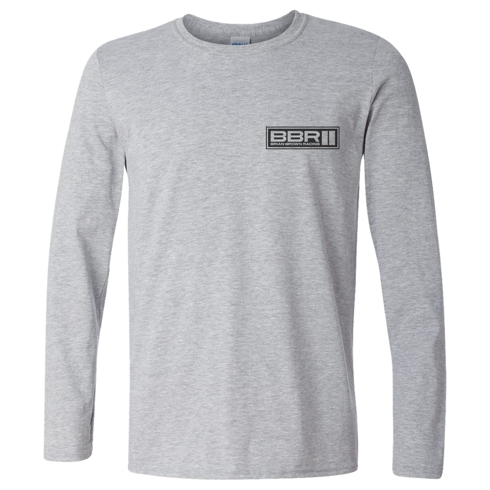 BBR Grey Team Long Sleeve Tee
