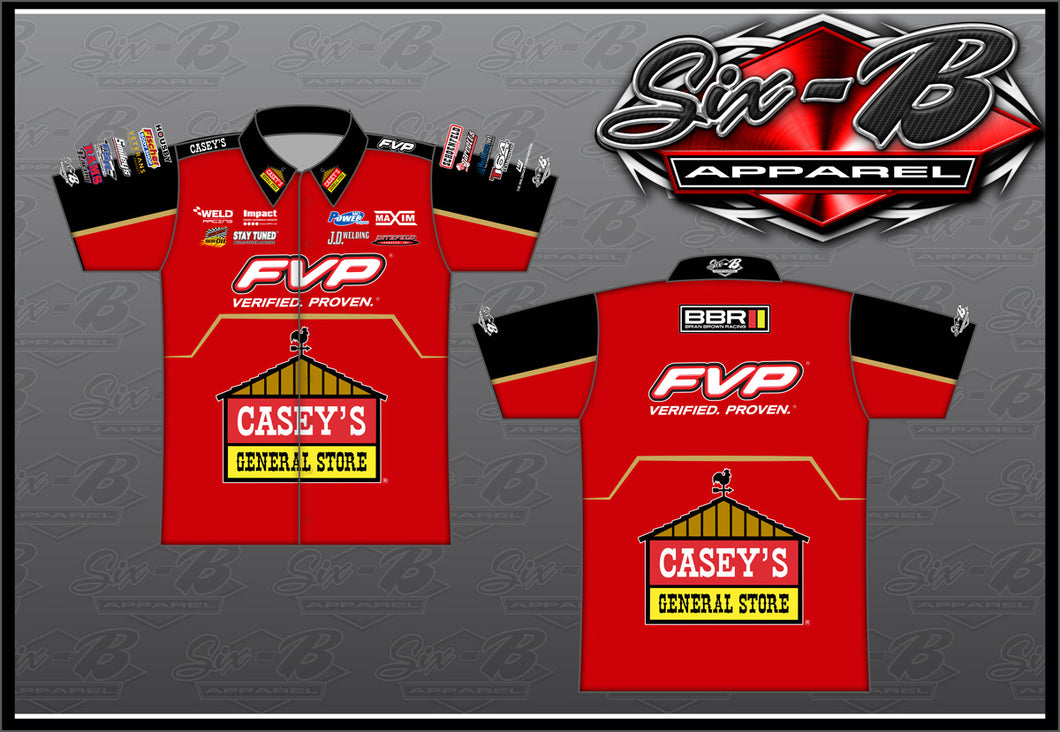 2020 Red Official BBR Crew Shirt