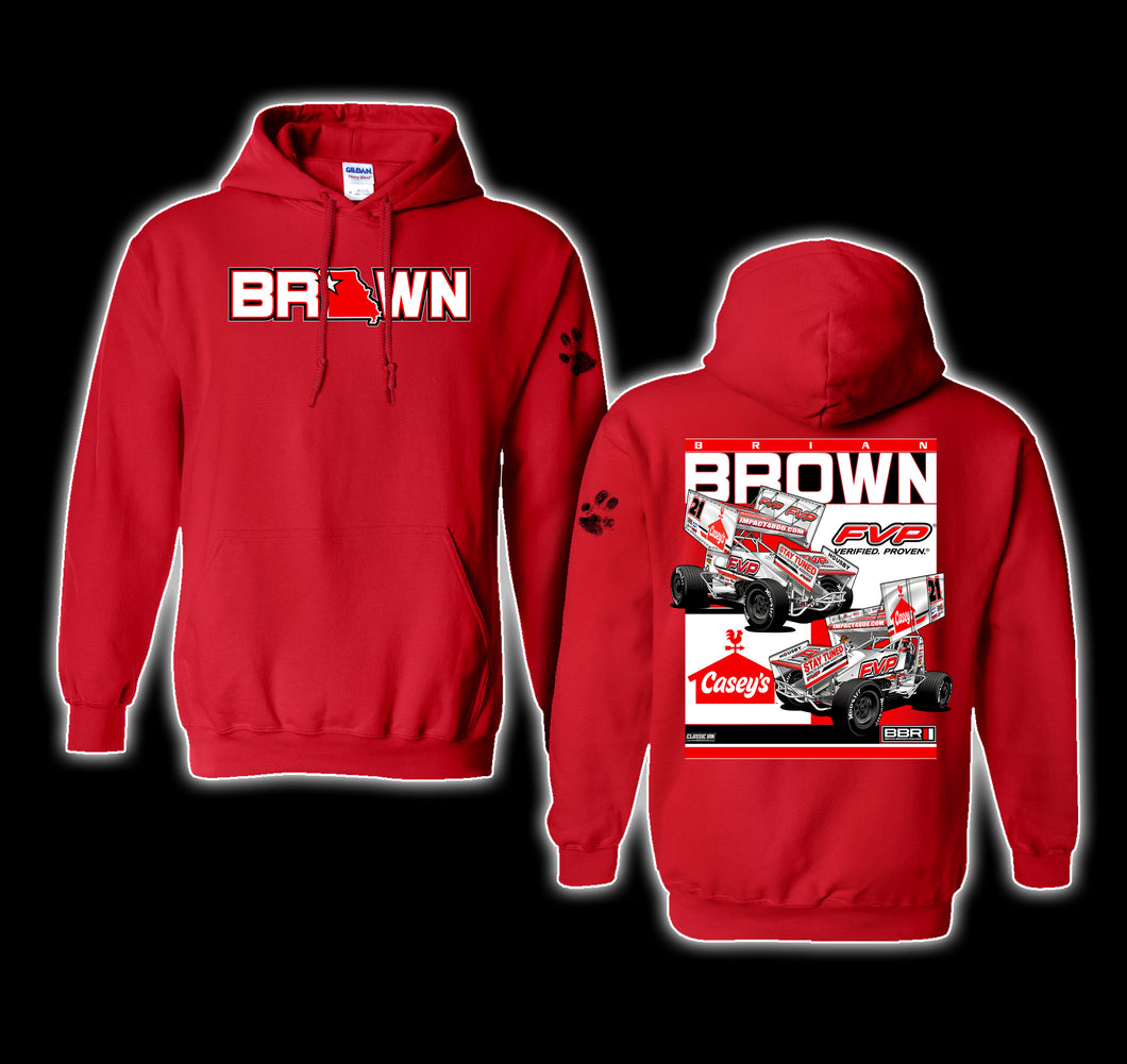 2021 Show Me Red Hoodie