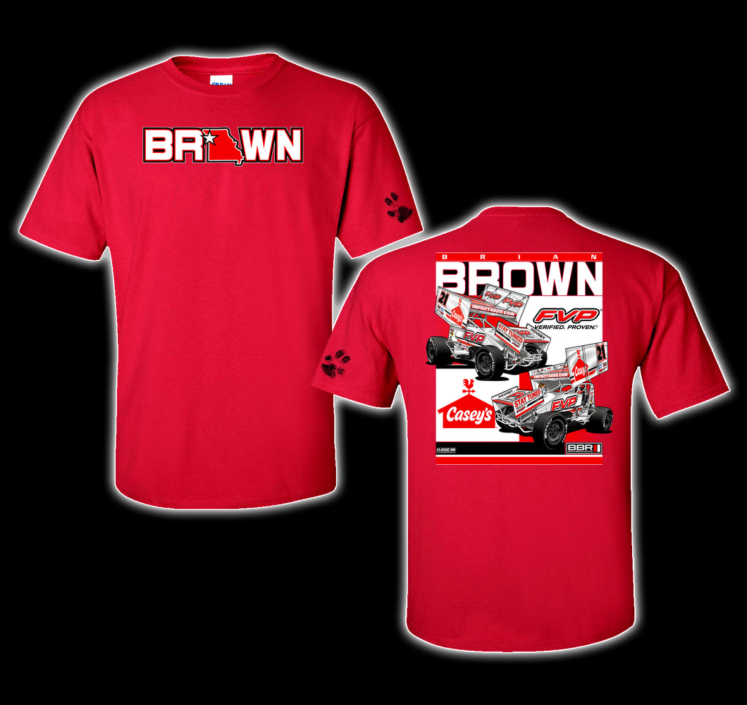 2021 Show Me Red Tee