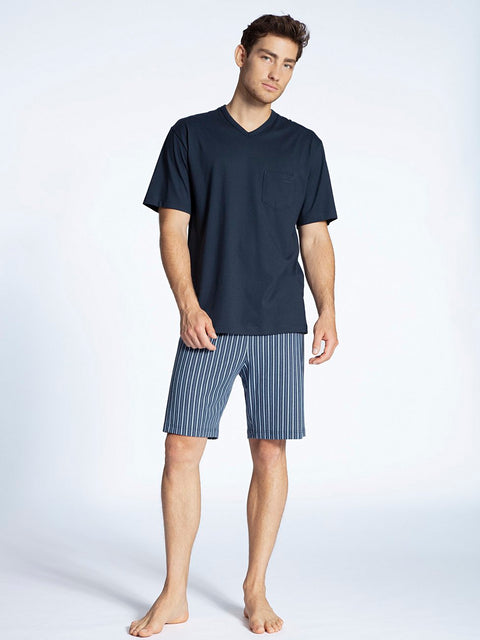 MEN Short Pyjama Marine