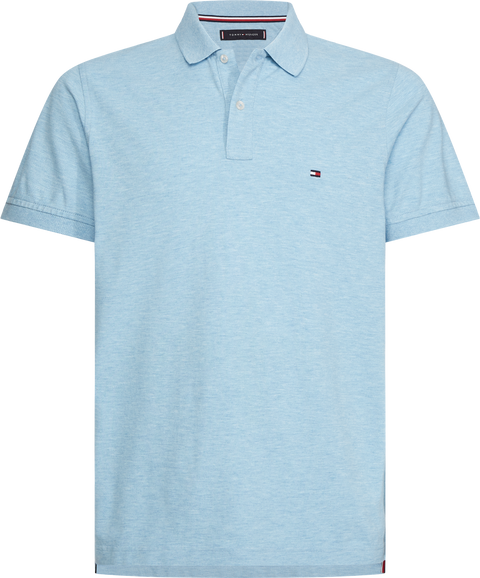 Tommy heather slim polo Lyseblå