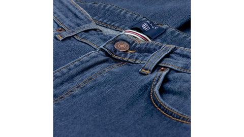 Regular Straight 11 OZ Jean Blå