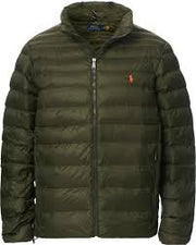 Terry Poly Fill Jacket Oliven