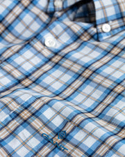 Multi Check Reg BD Shirt Khaki