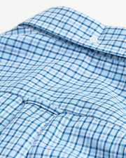 Oxford Check Reg BD Shirt Lyseblå
