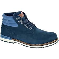 Suede Boot Marine