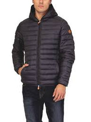 Ultra light hooded Jacket Marine