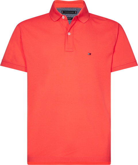 Tommy Regular Polo Oransje