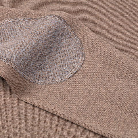 CN w/Patch Merino Wool Brun