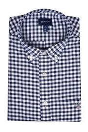 The Oxford Gingham Blå