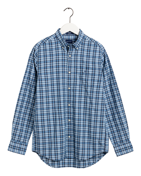 Oxford Indigo Check Blå