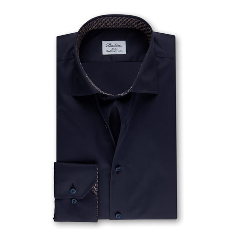 Slim fit Shirt Mørkeblå