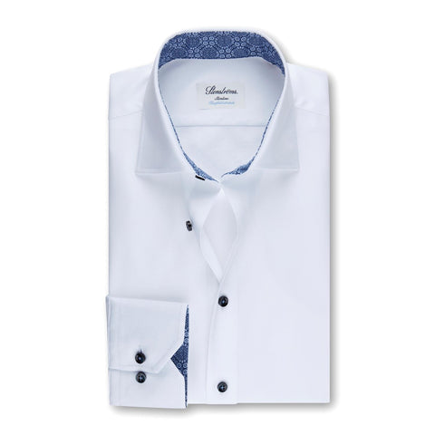 Slim fit Shirt Hvit
