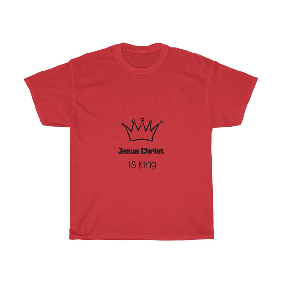 Jesus is King Unisex Cotton T-Shirt