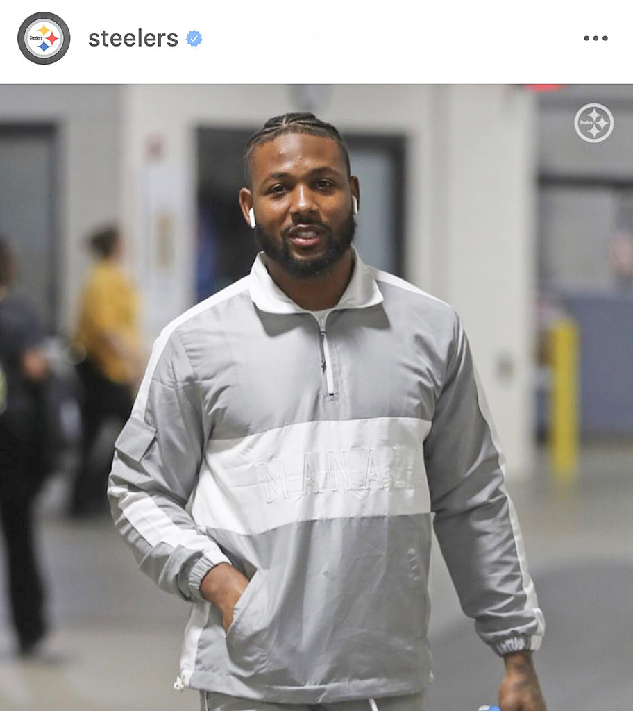 PITTSBURGH STEELERS CB STEVEN NELSON WEARING MANALL